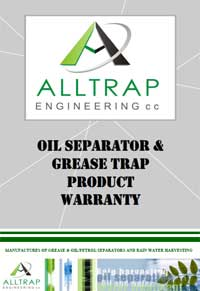 Grease Trap Warranty