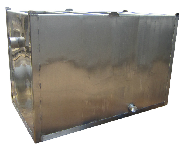 Stainless steel grease trap lps alltrap